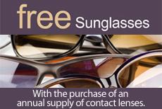 Free Sunglass Promotion